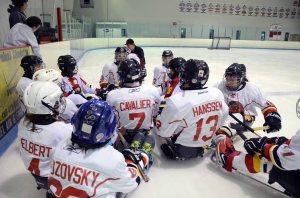 Blazers hockey team photo